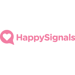 SupportWorld Live Sponsor Logo for Happy Signals
